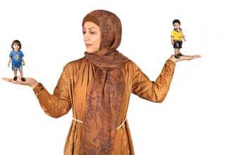 عدم مقایسه دوران کودکی والدین با فرزندان