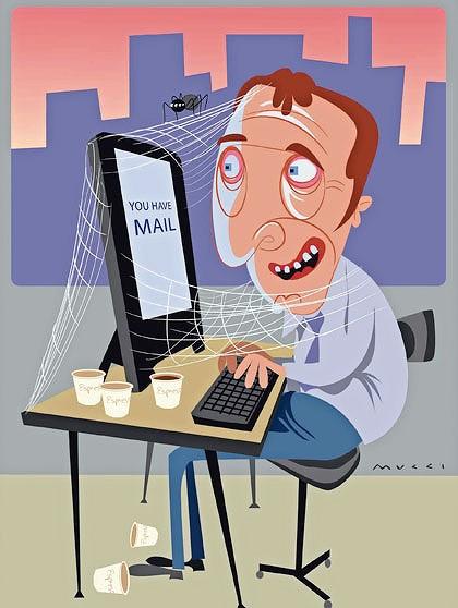 اعتیاد پیداکردن به اینترنت