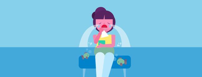 افسردگی پیش از زایمان - گریه کردن بی دلیل