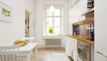 طراحی آپارتمان گرم و راحت همراه با فضای کافی برای همه – ۳۰ تا ۴۰ متری + پلان