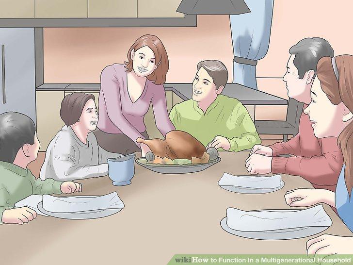 در صورتیکه یک مشکلی پیش آمده باشد که احساس کنید باید در مورد آن بحث شود، یک جلسه خانوادگی برگزار کنید