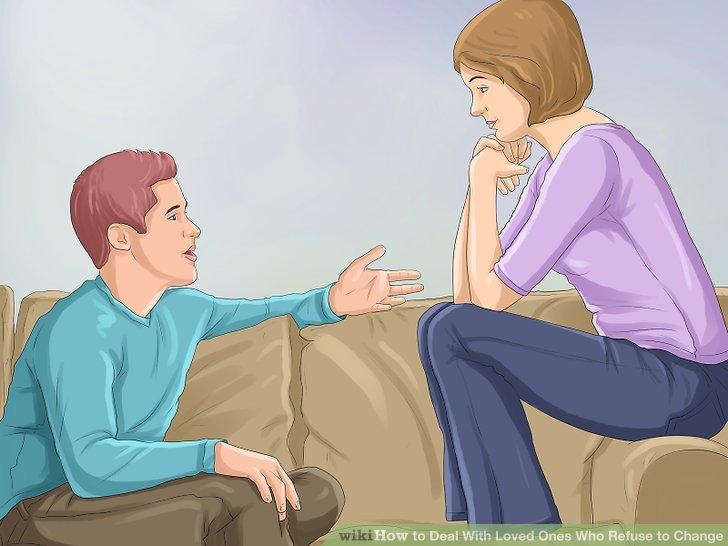 به مشکلات مربوط به رفتار فرد مورد علاقه تان اشاره کنید