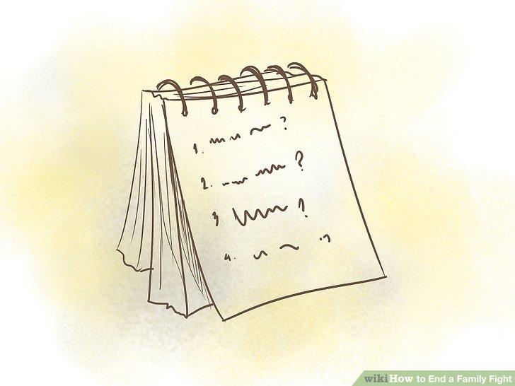 آماده کردن یک لیست از سوالات