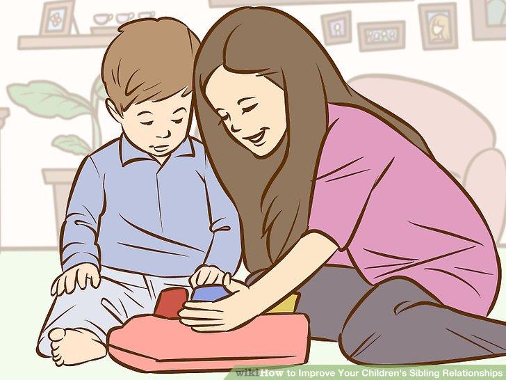 یک سری فرصت های مناسبی را برای بچه های خودتان فراهم کنید تا بتوانند کنار هم باشند