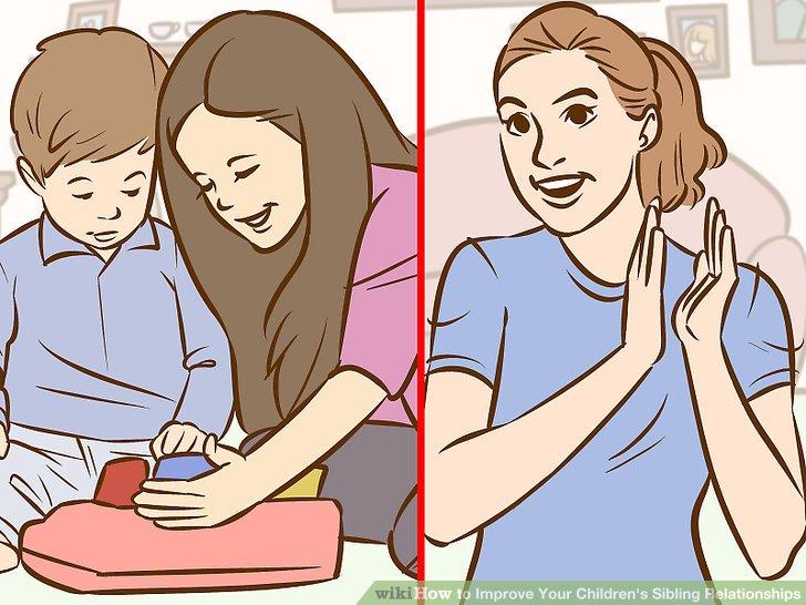 زمانیکه یکی از بچه ها نسبت به بچه های دیگر مهربانی نشان دهد، به او نشان دهید که رفتارش منجر به خوشحالی و رضایت شما شده است