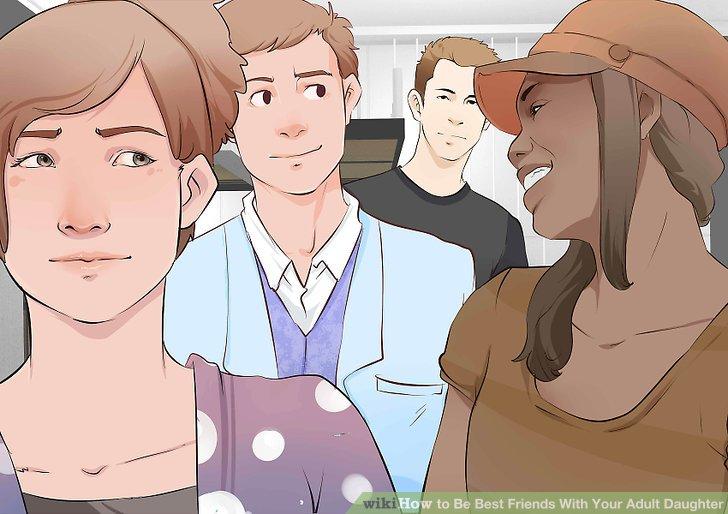 سعی کنید که به همراه دخترتان، در گروه هایی حضور داشته باشید که سایر اعضای خانواده و دوستانتان هم در آن حضور دارند