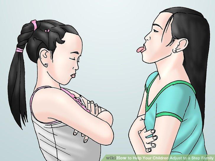 یک زمانی را برای باهم بودن بچه های بیولوژیکی خودتان و بچه های ناتنی خودتان در نظر داشته باشید