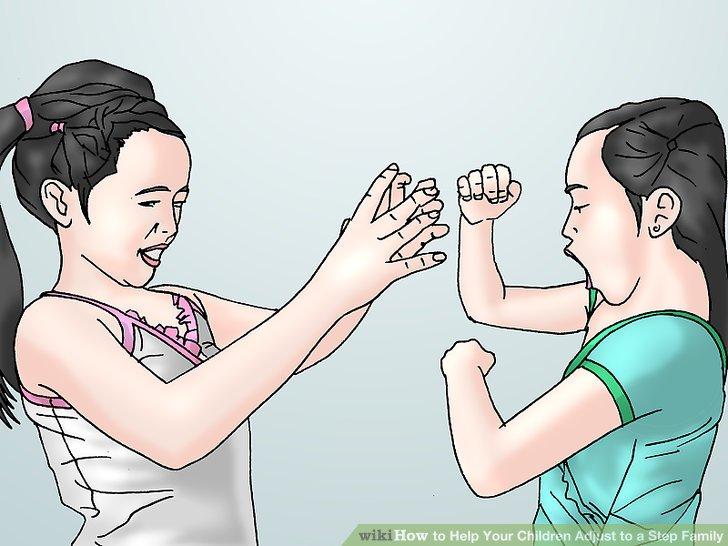 بچه های خودتان را مجبور نکنید که یک رابطه صمیمی با خانواده ناتنی شان داشته باشند