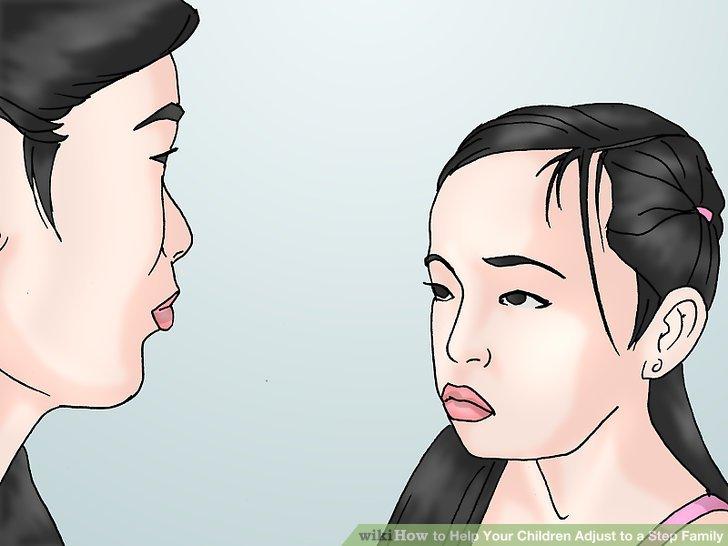 اجازه بدهید که هر یک از بچه های بیولوژیکی شما به صورت رو در رو با همسر جدیدتان صحبت کنند