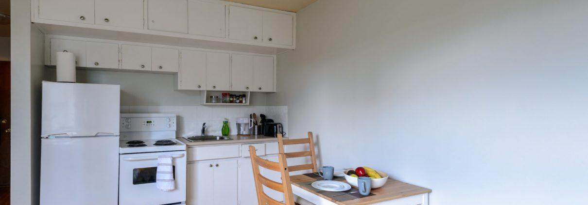 یک آپارتمانی در استکهلم که همه امکانات را در یک اتاق دارد